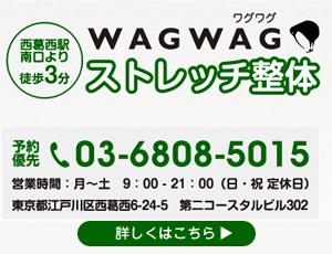 ストレッチ整体 WAGWAG(ワグワグ)